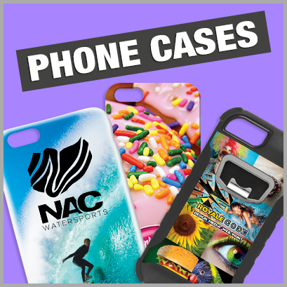 Promotional Phone Cases with no MOQ