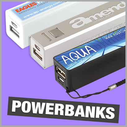 Promotional Powerbanks with no MOQ