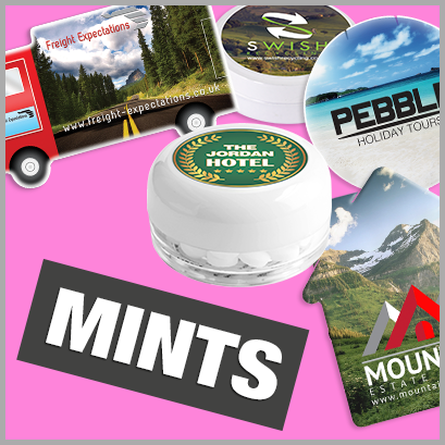 Promotional Mints with no MOQ
